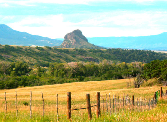 Goemmer Butte As Seen From The Highway Of Legends Near La